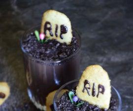 Halloween Choco Pudding