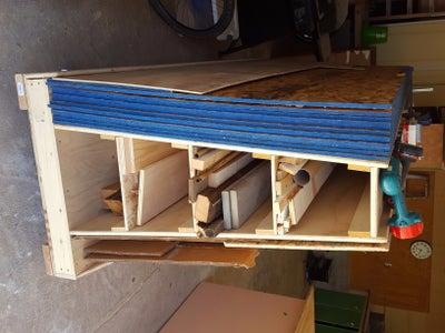Wood Storage Cart - Redux