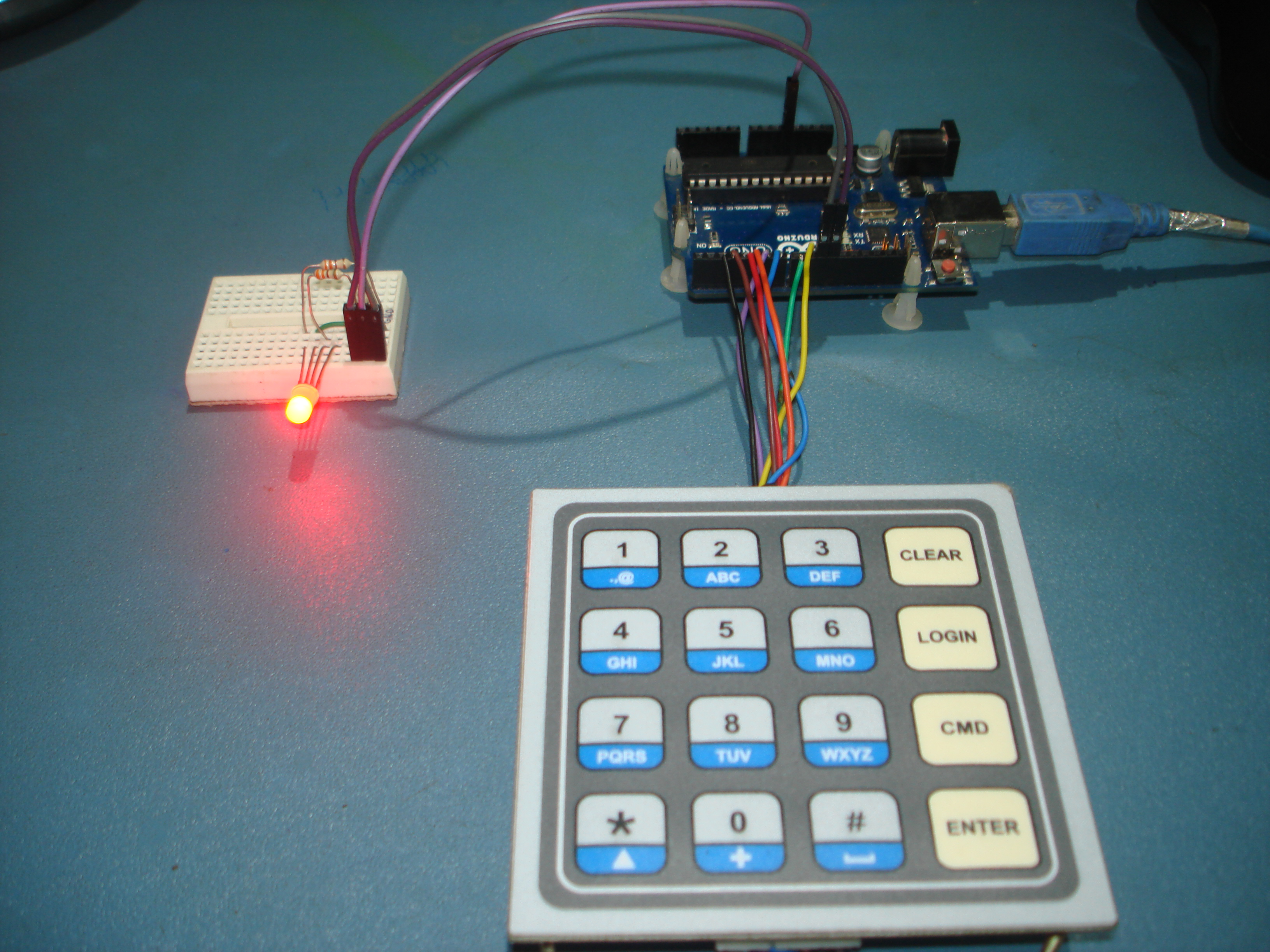 Picture of Interfacing Keypad With Arduino. [Unique Method]
