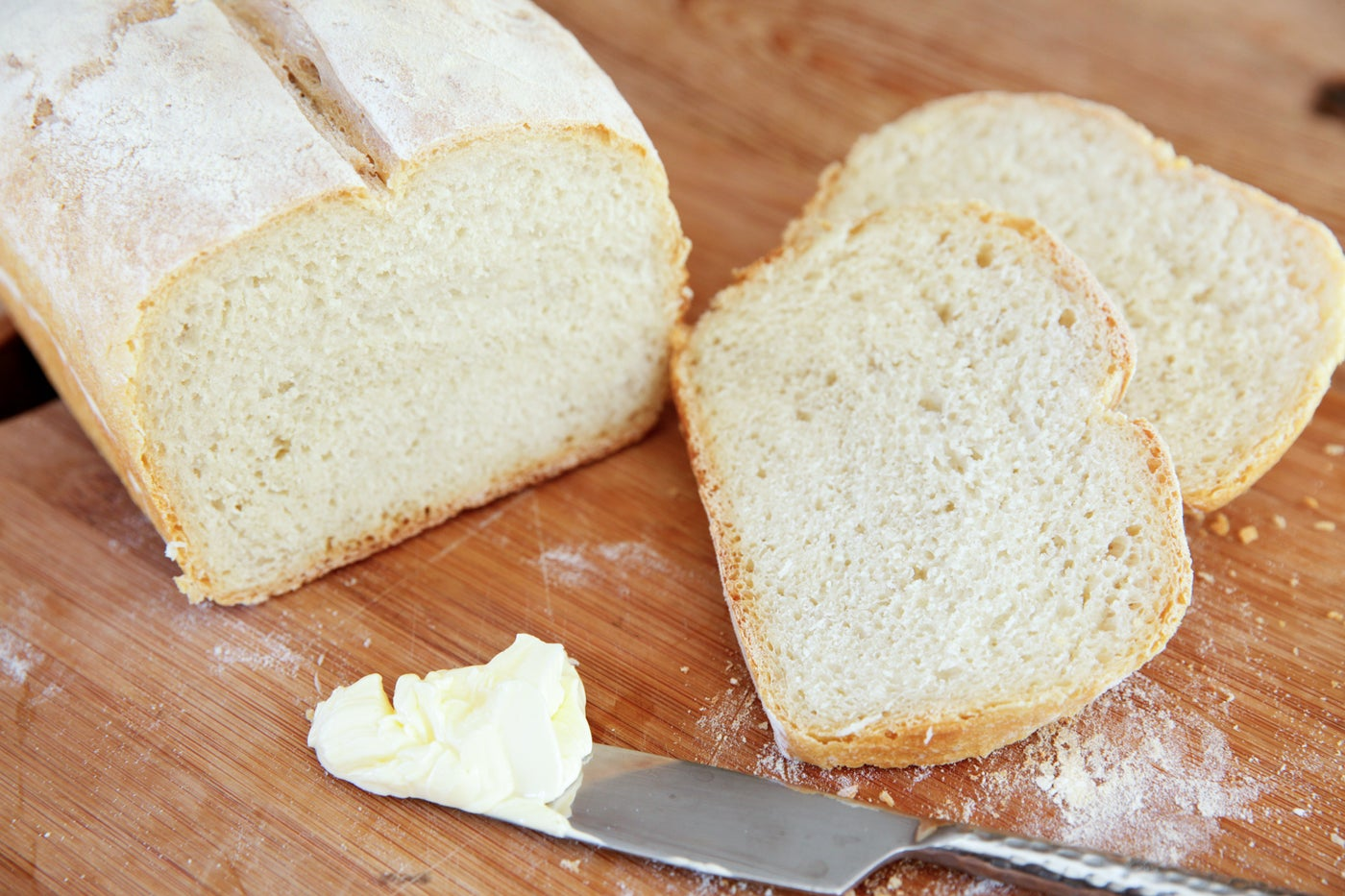 Slicing and Serving Bread