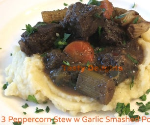 3 Peppercorn Stew