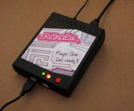 Retro-Gaming Machine With Raspberry PI, RetroPie and Homemade Case