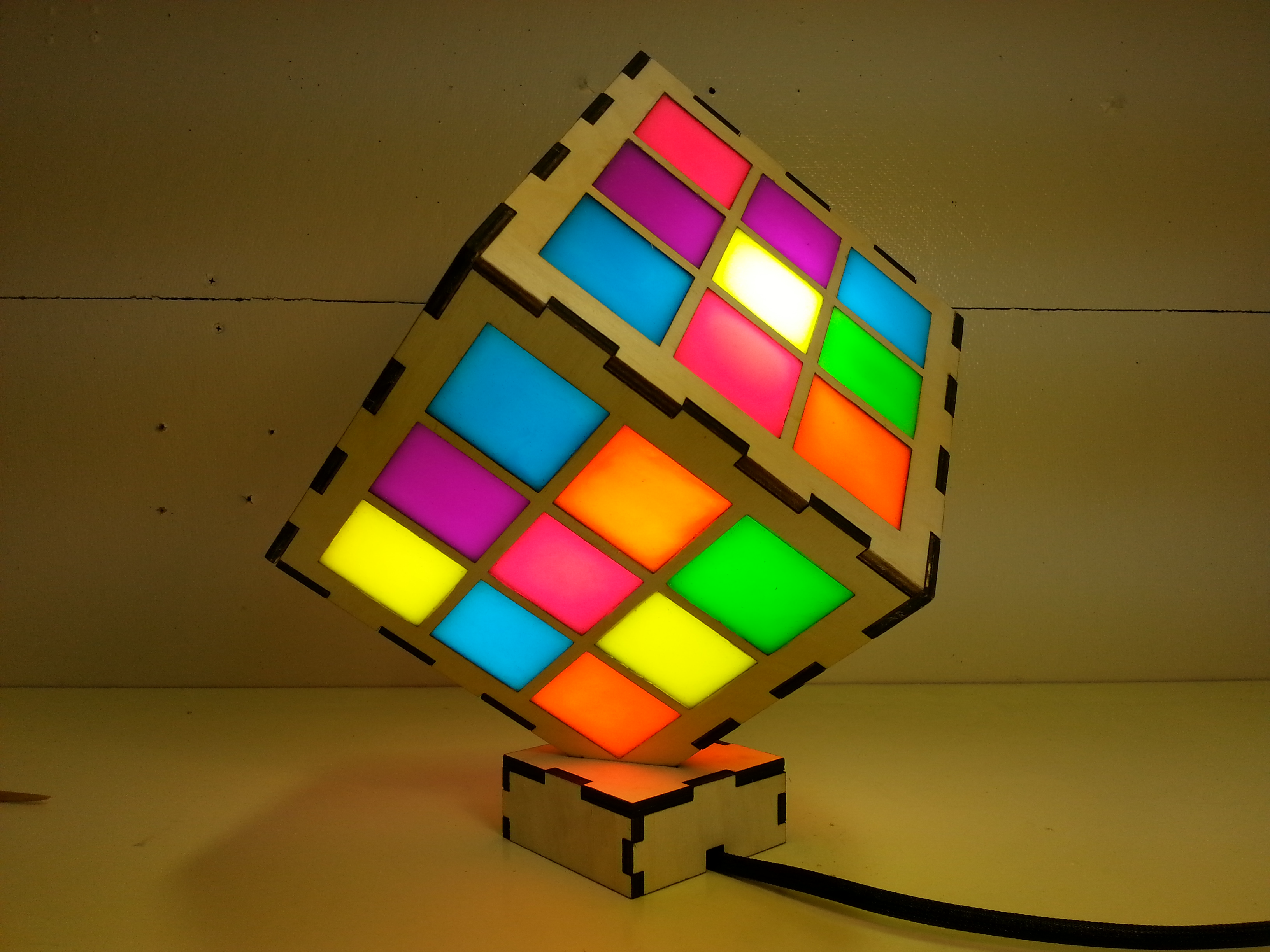 Picture of Neon Cube Light
