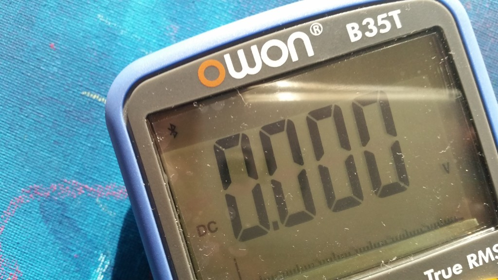 Picture of Connecting the Owon B35T Multimeter With the Data Glasses