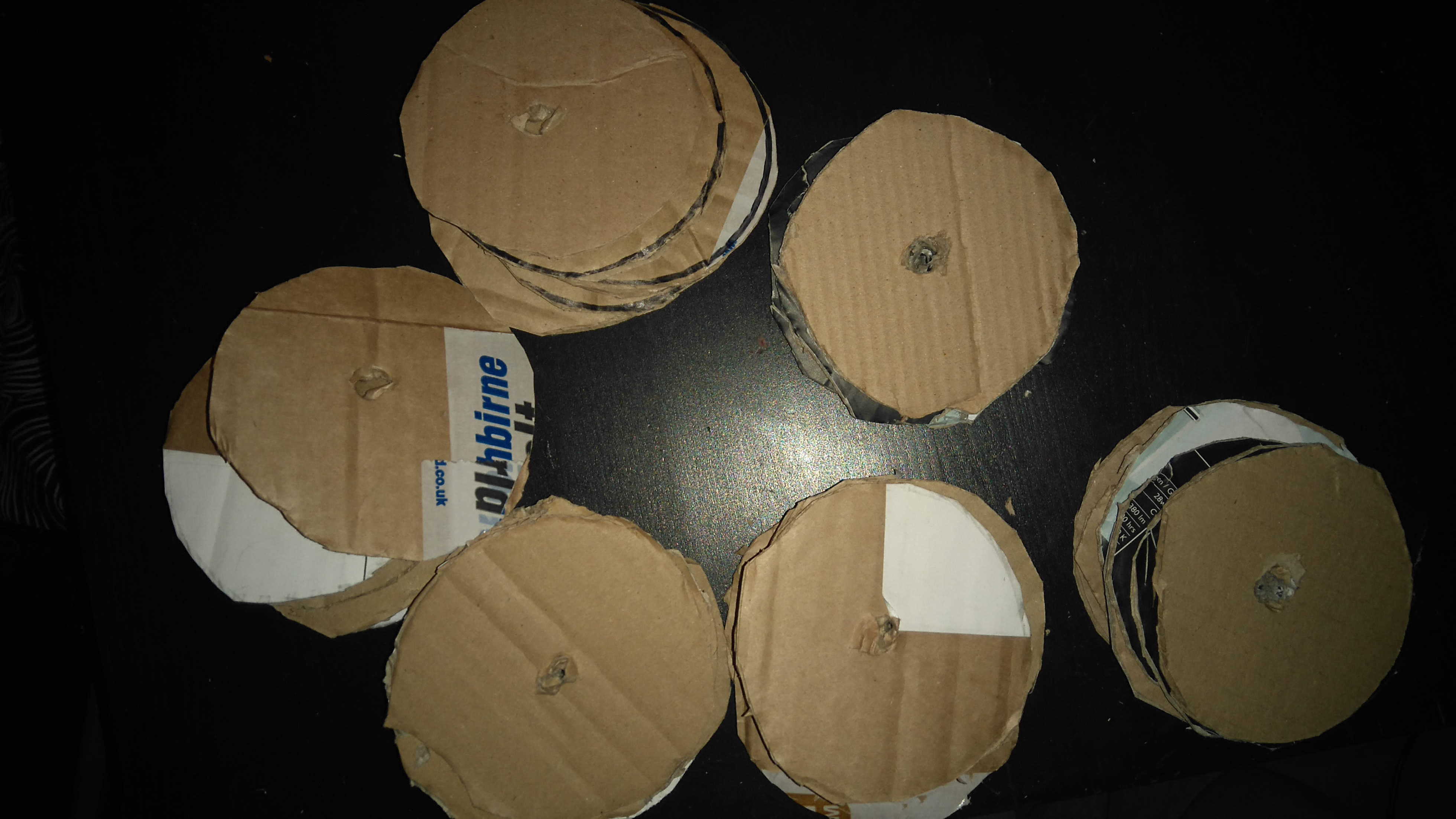 Picture of Cardboard Disk