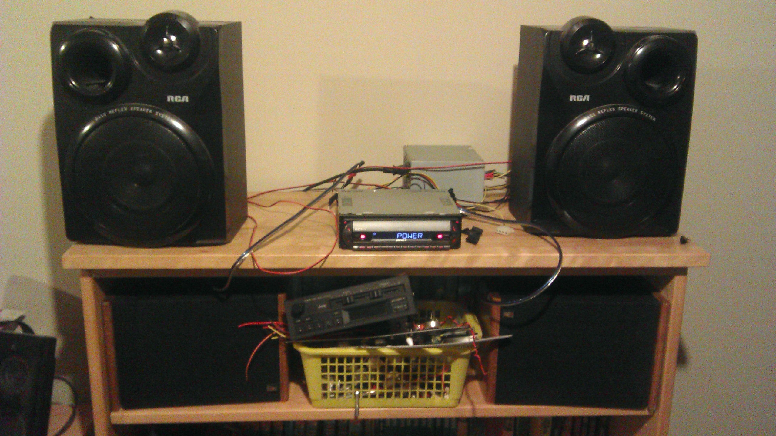 Car Stereo To Home Stereo With A Psu 7 Steps Instructables