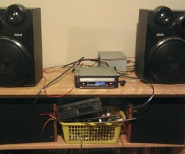Car Stereo to Home Stereo With a PSU