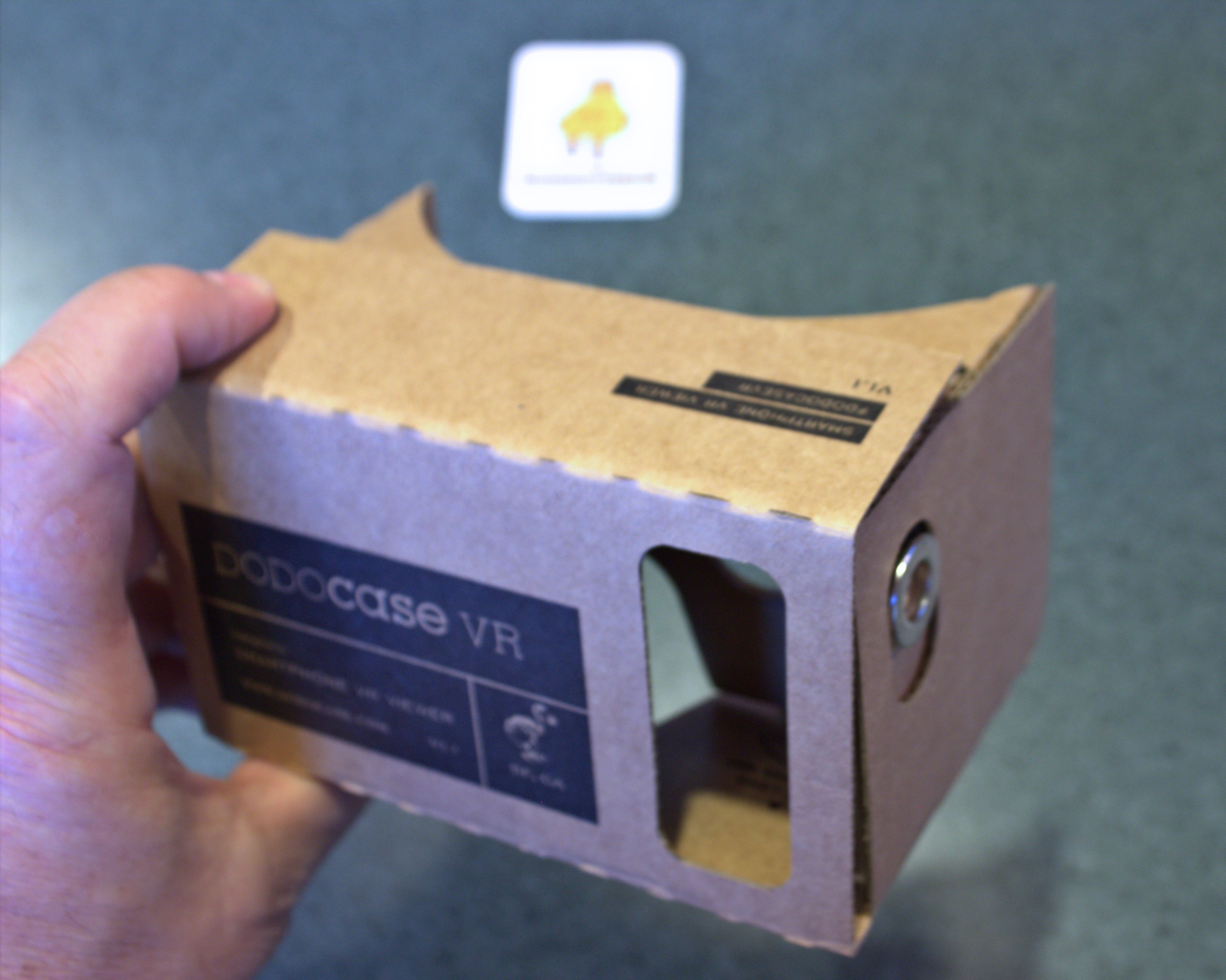 Picture of Make the DODOcase VR / Google Cardboard Switch Work - Samsung Galaxy S3 Phone