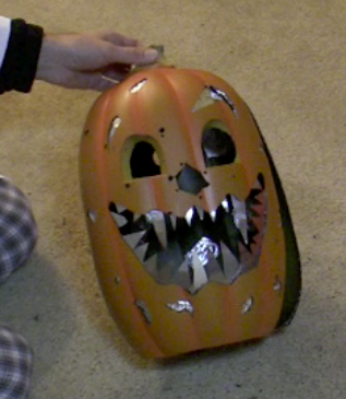 Picture of The Pumpkin Head With Vengeance.