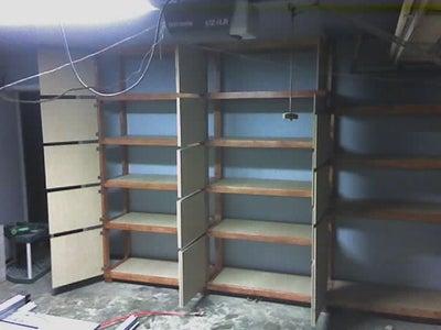 Install Shelf Boards