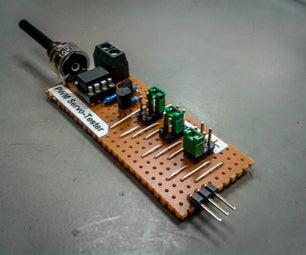Attiny25/45/85 PWM Generator and Servo Tester! Updated Code!