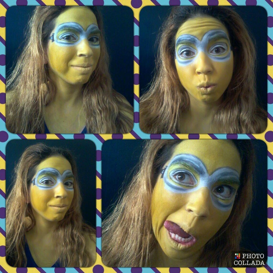 Picture of Minion Face Paint (Despicable Me)