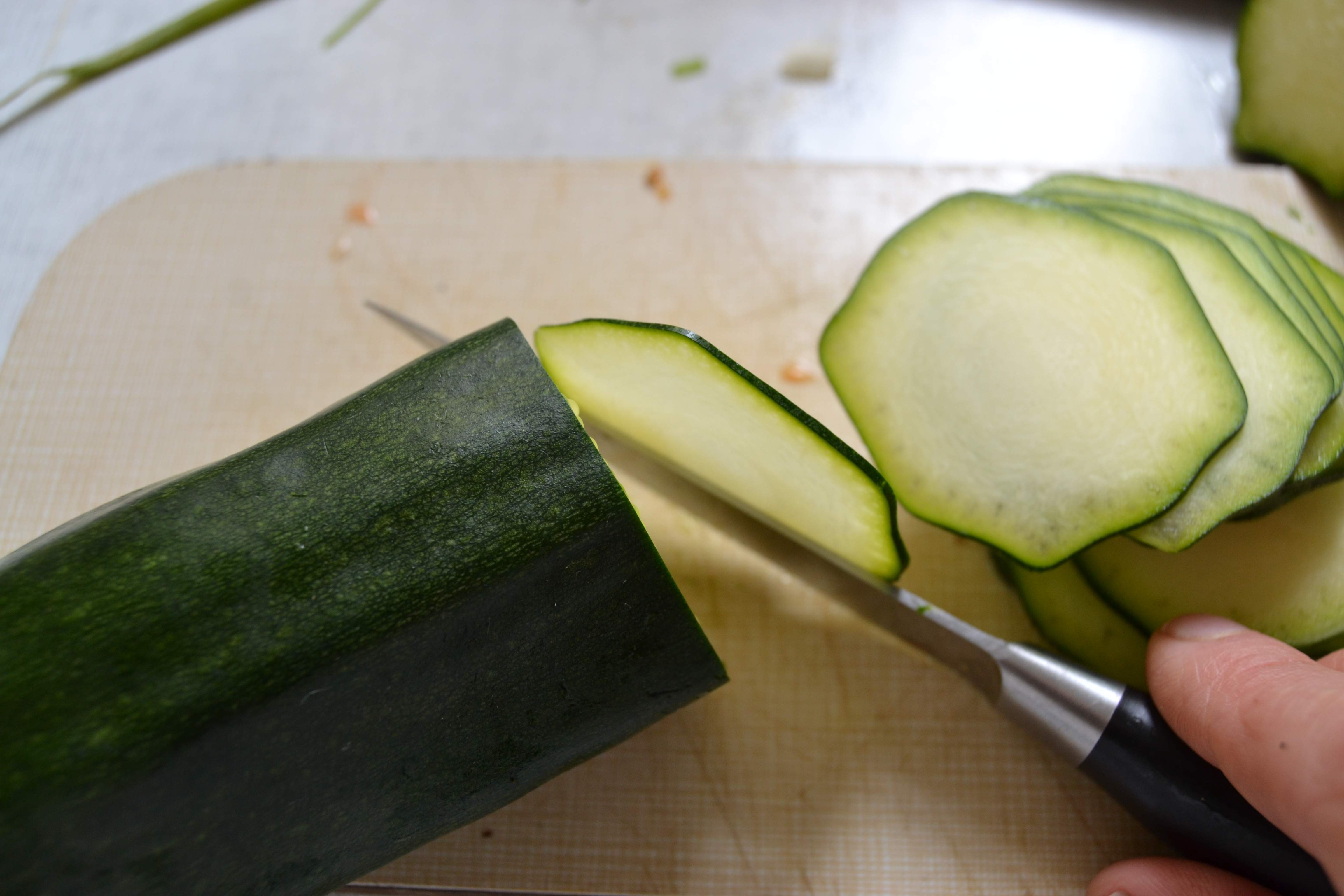 """Picture of Prepapre the Garnishes and the """"raw-ioli"""""""