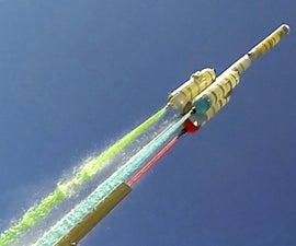 Homemade Water Rocket