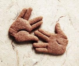 Vulcan salute cookie