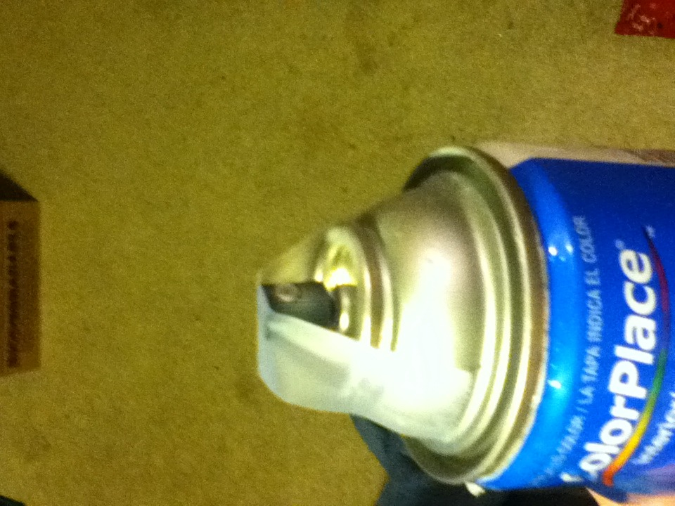 Picture of Empty the Spray Paint Can