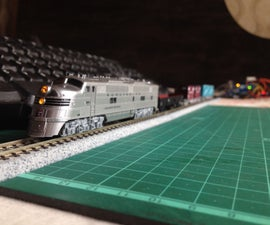 Keyboard Controlled Model Train V2.0 | PS/2 Interface