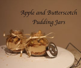 Apple and Butterscotch Pudding