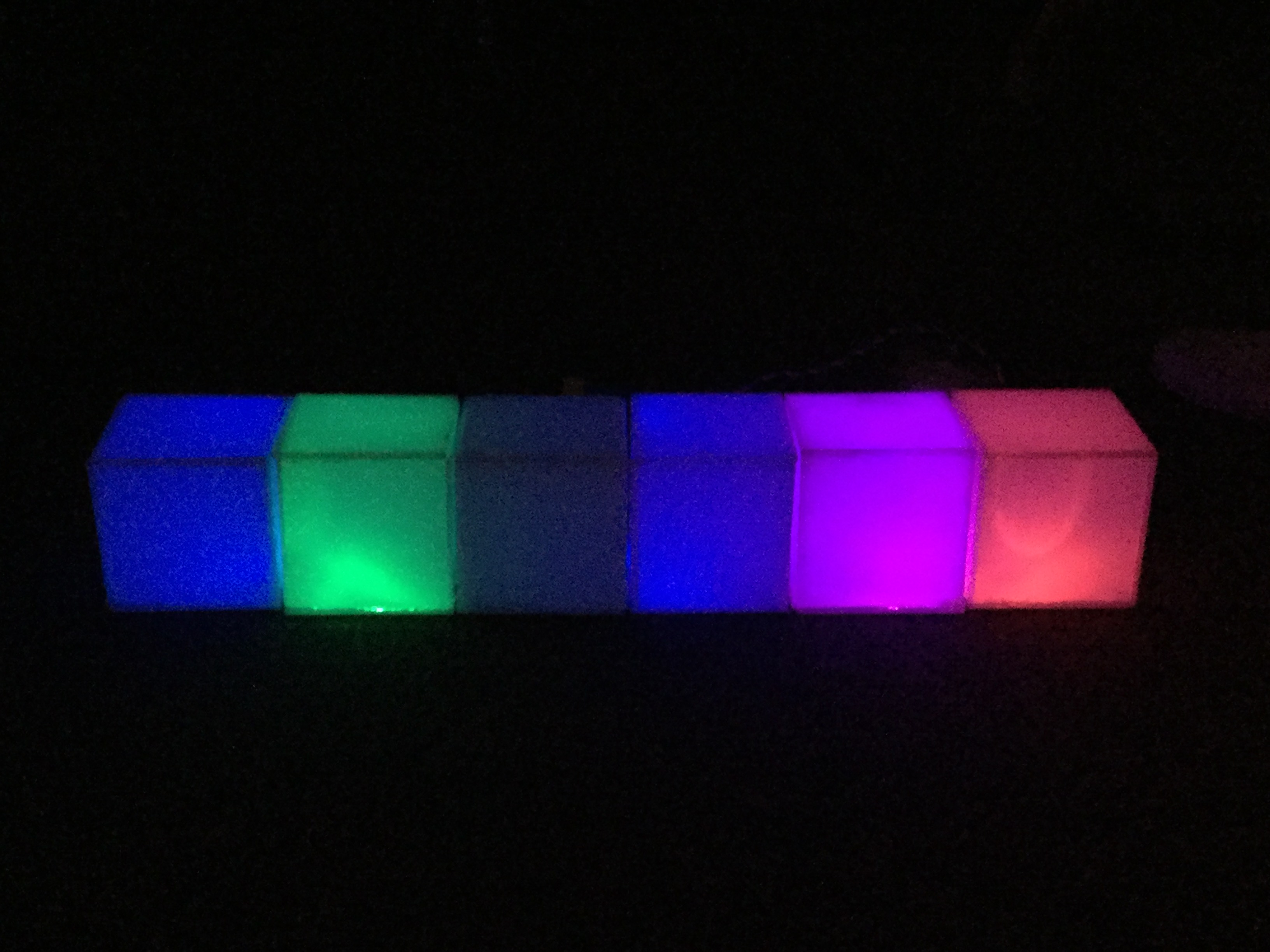 Picture of LED Music Boxes (Hummingbird)