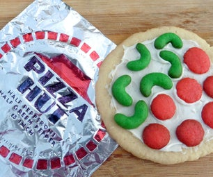 Dehydrated Pizza Cookies: Back to the Future