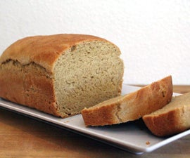 Overnight Soaked Flour Sandwich Bread