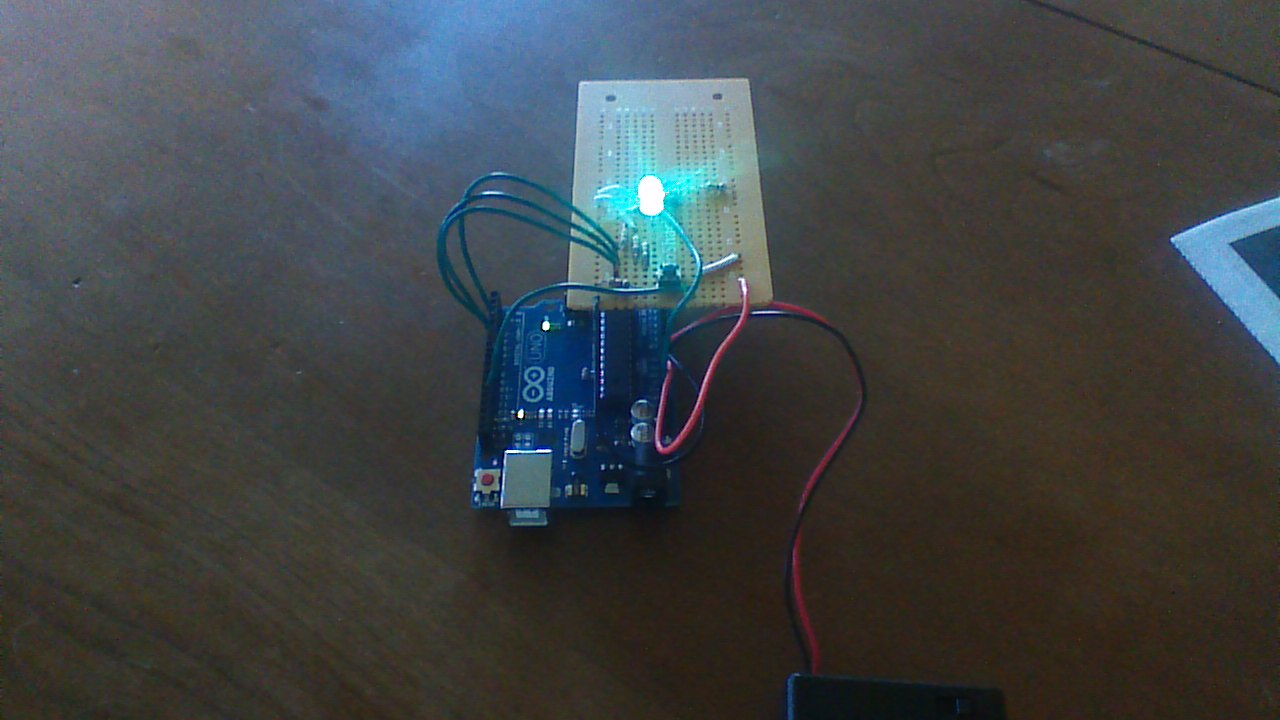 Picture of 1 LED Game With Arduino Uno and an RGB LED