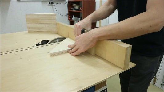 Cutting the Support Arms to Size