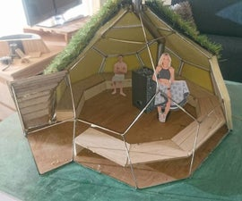 Geodesic Dome Sauna