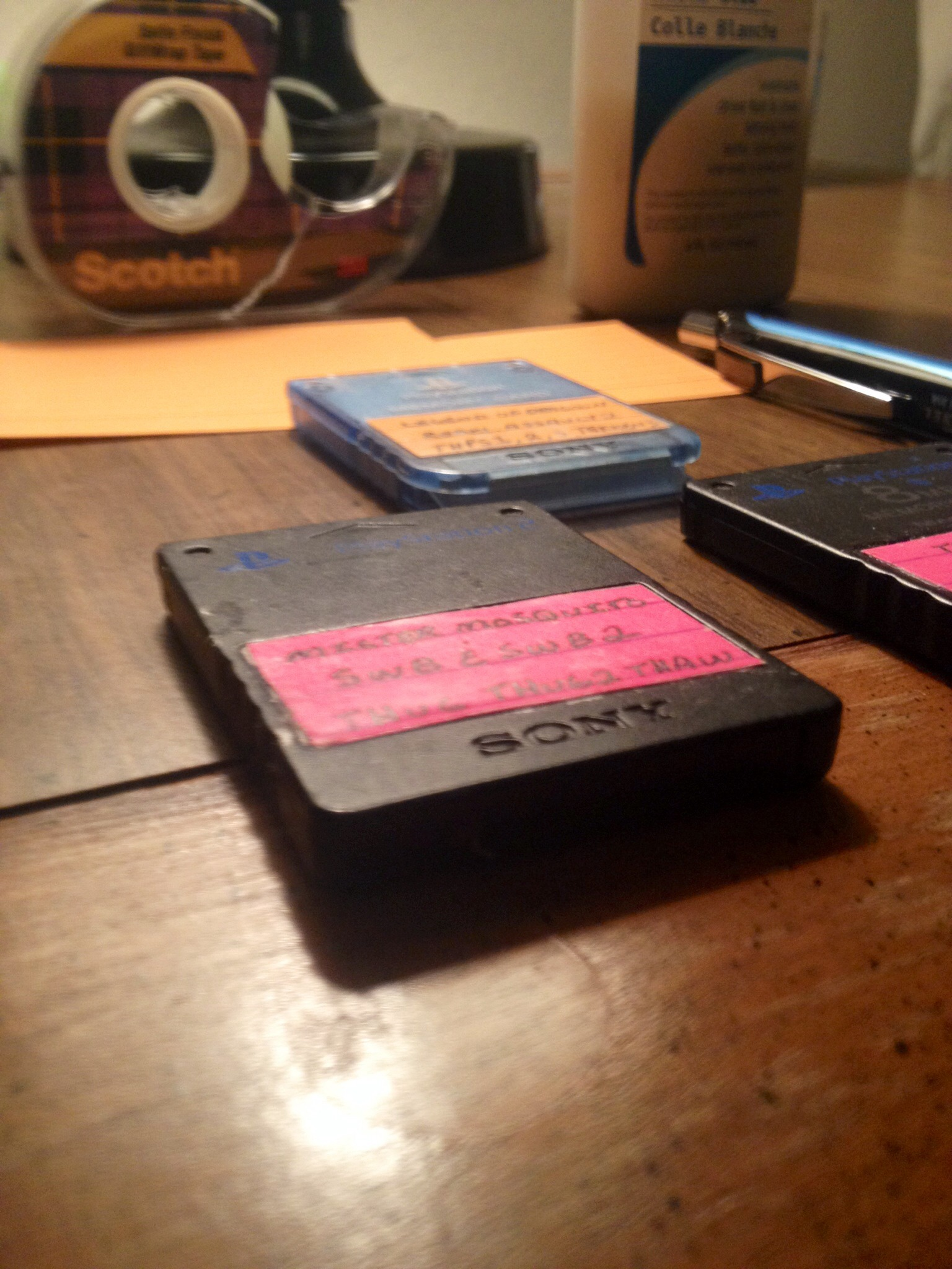 Picture of Super Easy and Really Practical Memory Card Labels