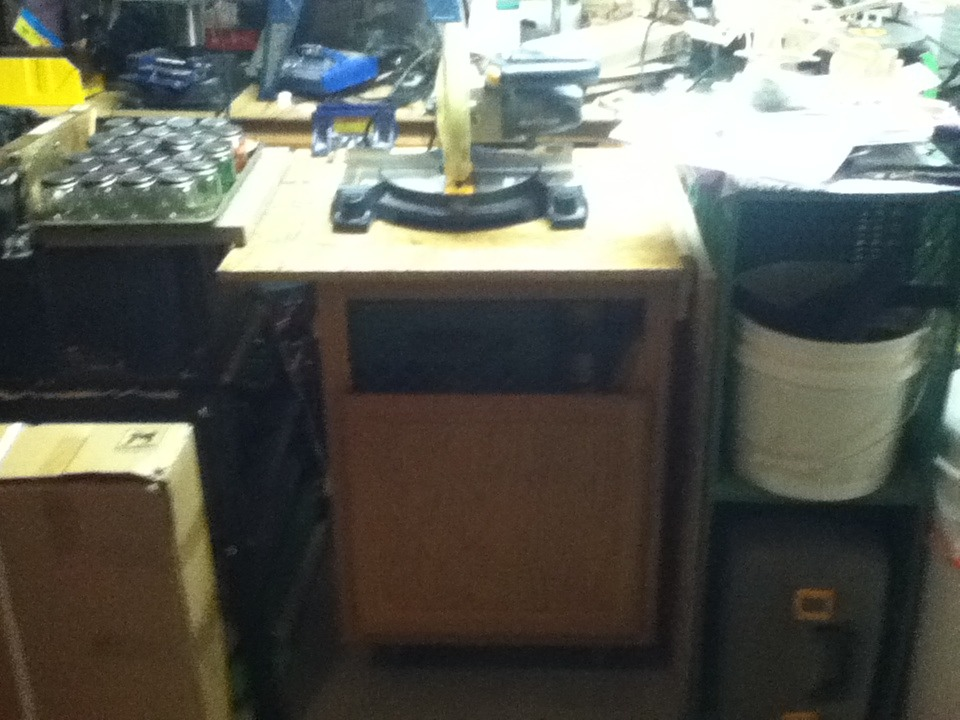 Picture of Mobile Workbench on the Cheap
