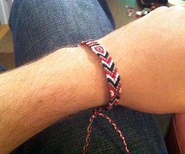 Making a friendship bracelet