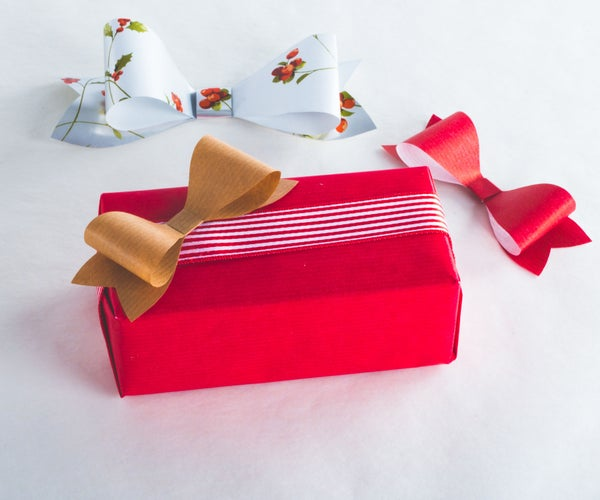 How to Make a Decorative Paper Bow (with Template).