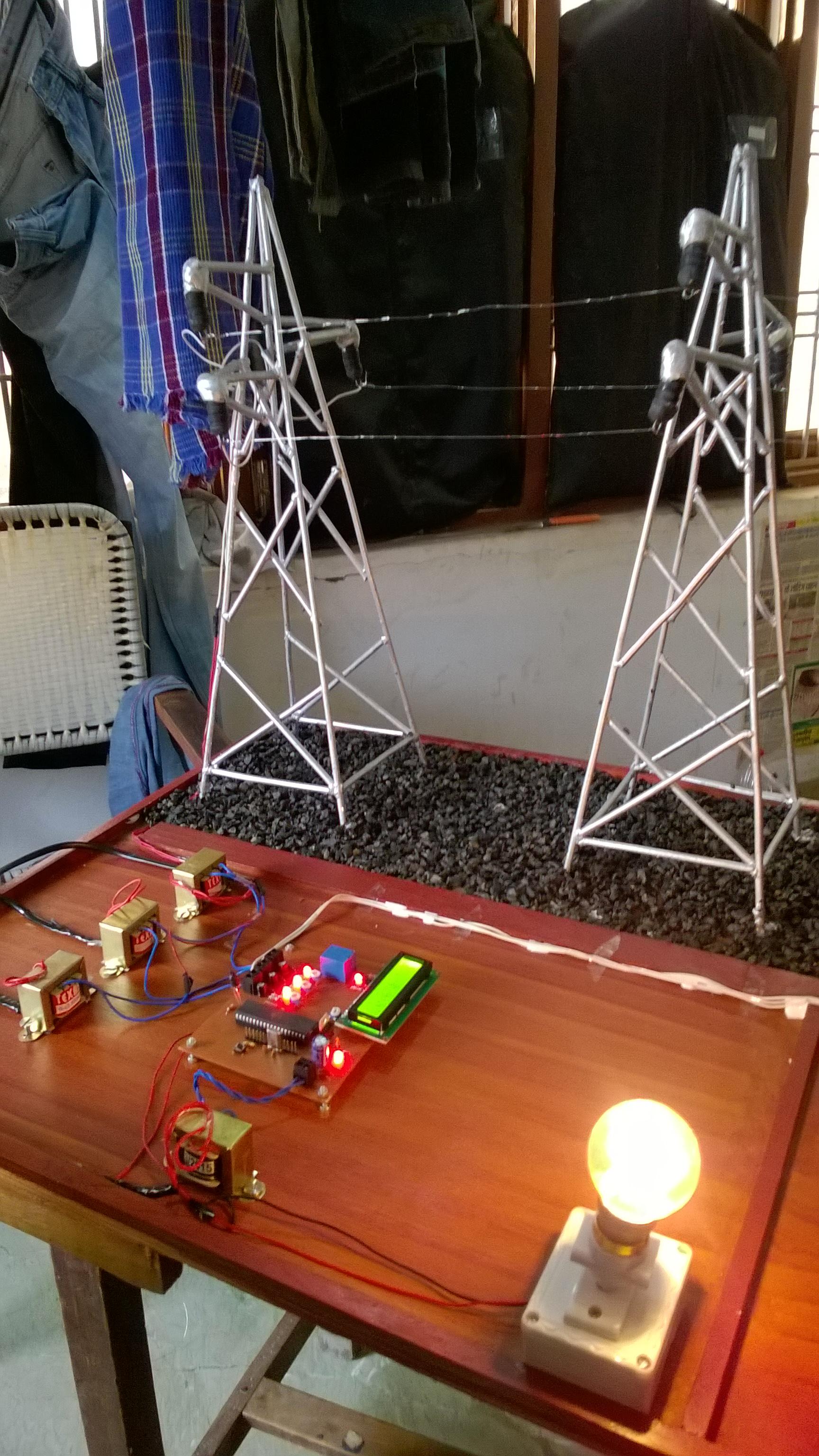 Picture of Transmission Line Fault Detector