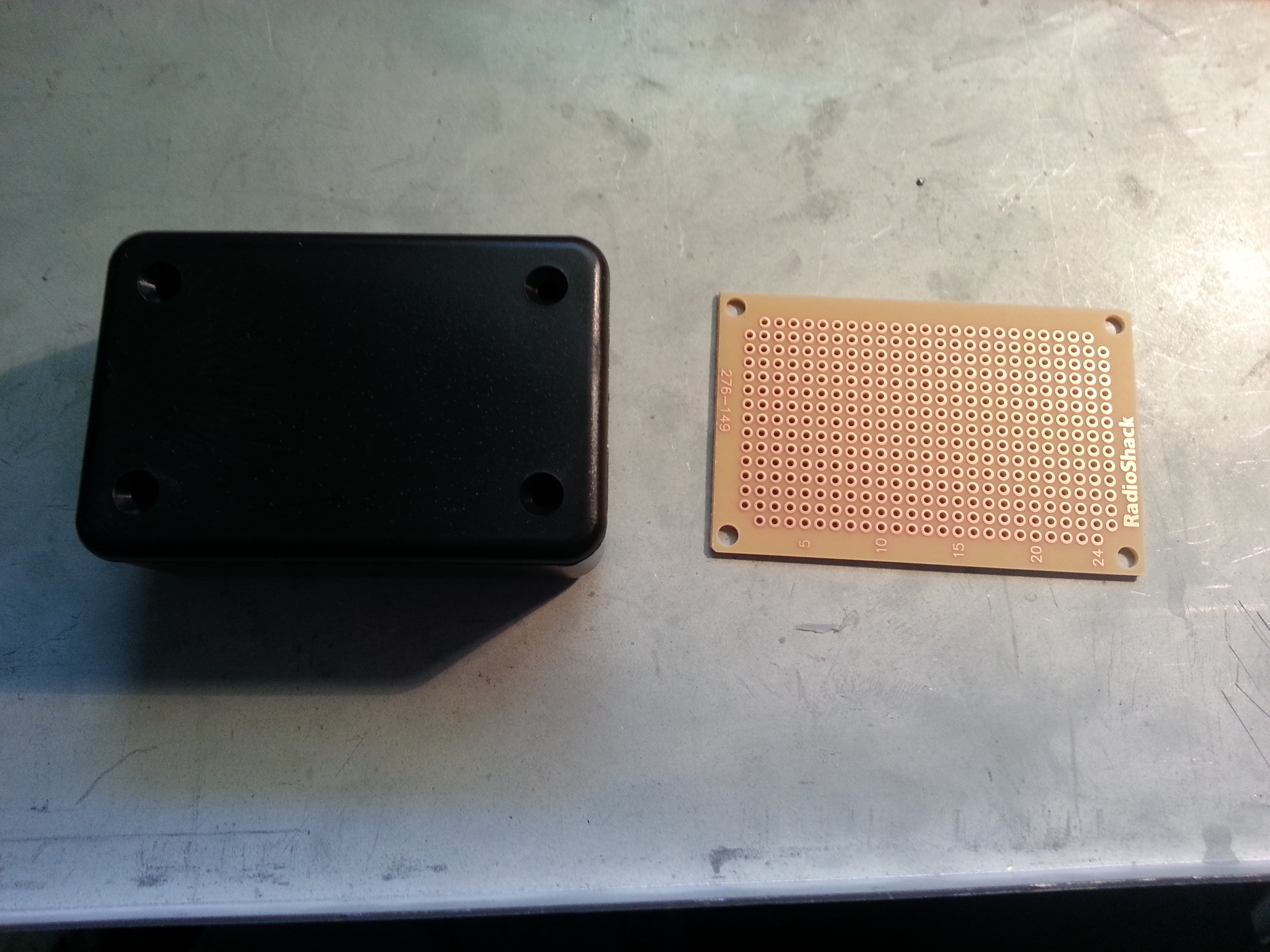 Picture of Project Enclosure & Circuit Board