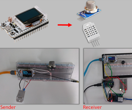 ESP32 LORA: Gas Sensor, Humidity, and Temperature by SMS – Part 2