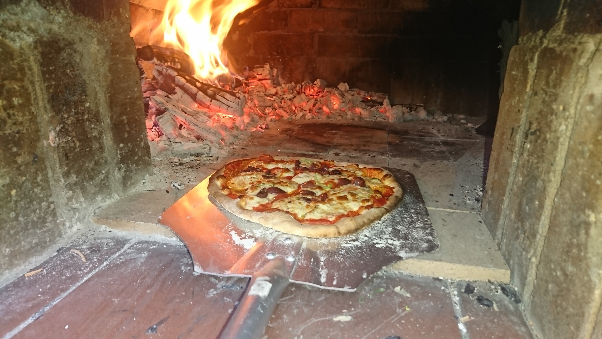 Picture of Pizza Oven Build
