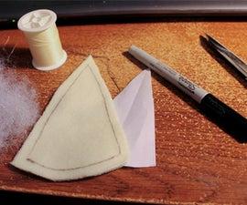 Make a Plush Spiral Horn