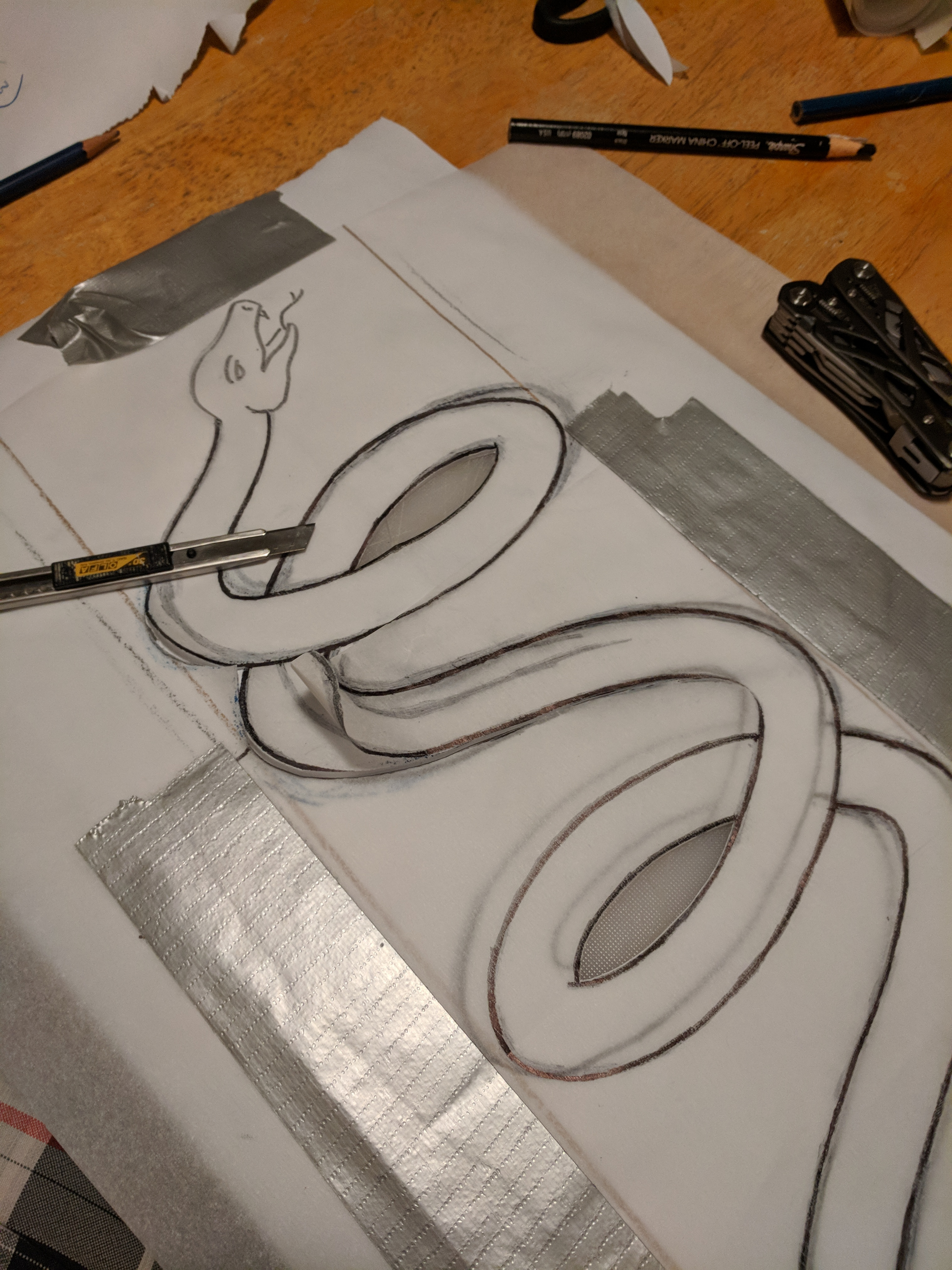 Picture of Artwork - Snake