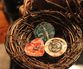 Resin Pendants & Ornaments
