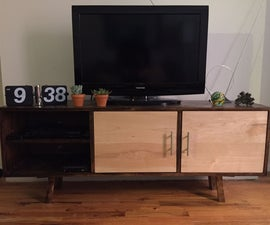 60s Style TV Console