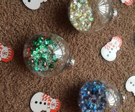 Sparkle Christmas Ornaments