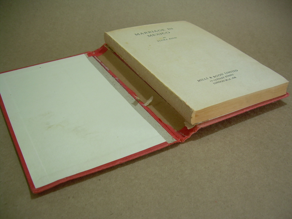 Picture of Cut Book From Old Cover
