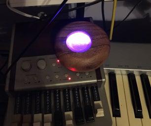 Leslie Birchinator - Neopixel Arduino MIDI Switch