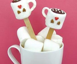 Cocoa Mug Marshmallow Pops/Stirrers