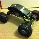 Custom RC Rock Crawler