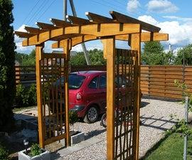 Wooden Arbor - Simple DIY Project