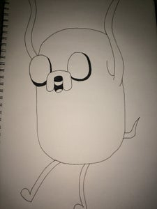 Adventure Time -  How to Draw Jake the Dog