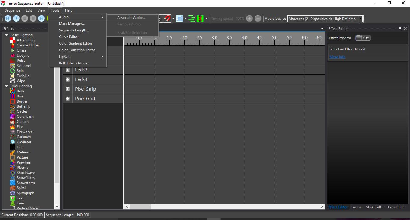 Picture of Agregar Audio (Add Audio)