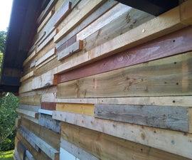 Garden Shed Climbing Wall