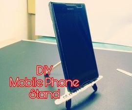 DIY Mobile Phone Stand